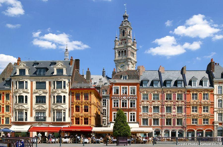 Les plus belles places de France France, Nord pas de calais and