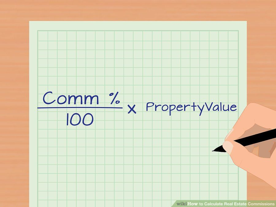 How To Calculate Real Estate Commissions Real Estate Estates Real
