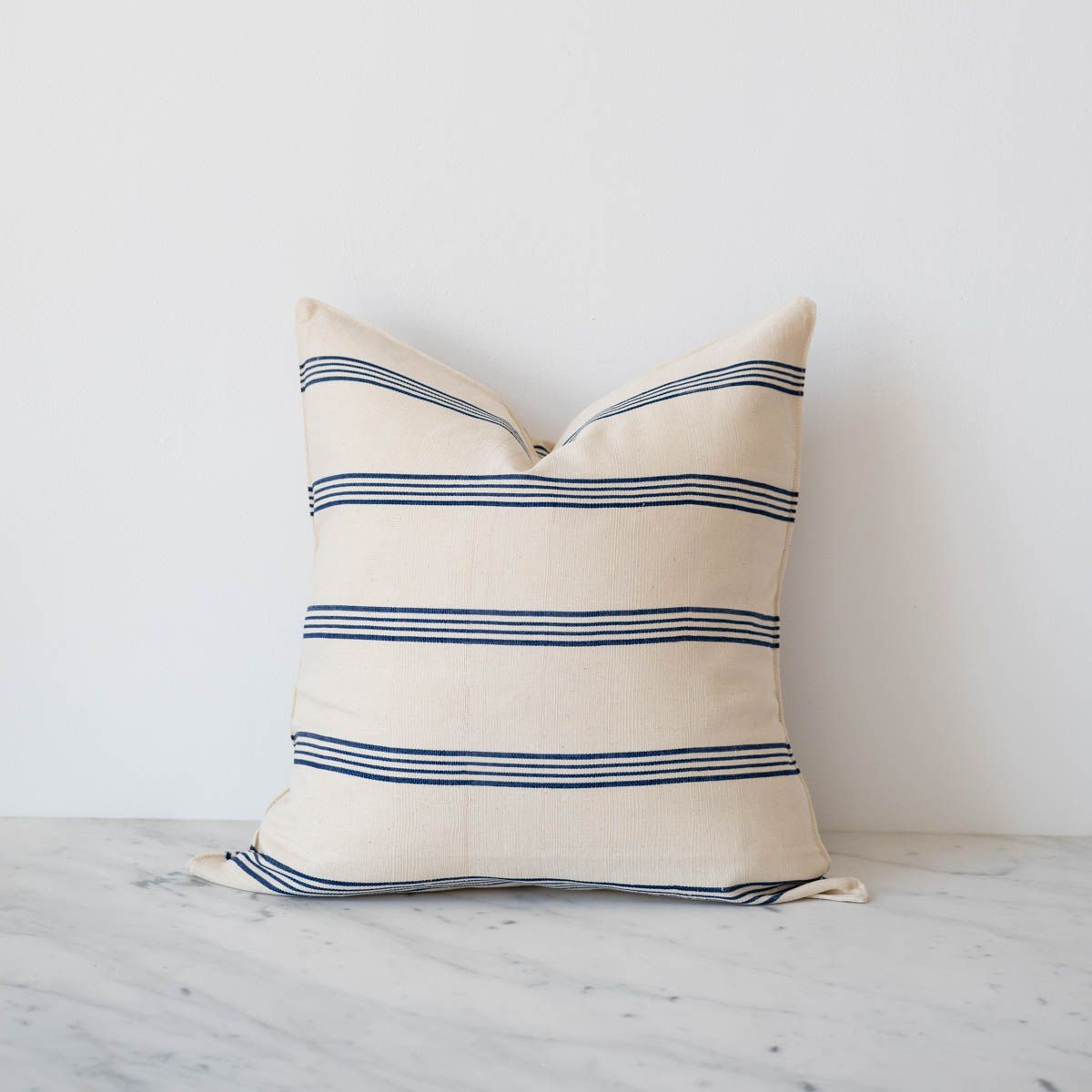 Add a pop of colour to your living space with this luxurious handwoven and hand-dyed cushion cover. The envelope enclosure makes it easy to slip... read more