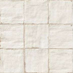 Carrelage Mural Blanc Brillant Aspect Artisanal Retro Li0009004