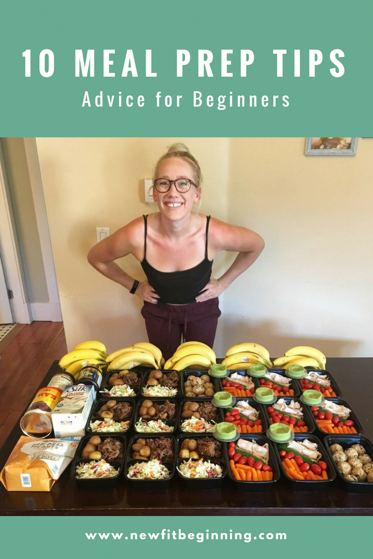 10 Meal Prep Tips for Beginners quickhealthymeals is part of Meal prep clean eating -