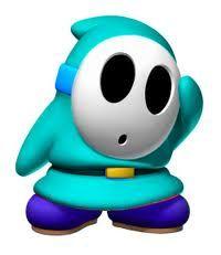 Blue Shy Guy Mario Bros Birthday Super Mario Party Mario And Luigi