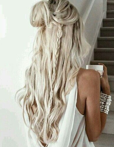 Platinum Blonde Row S Natural Blonde Hair From The