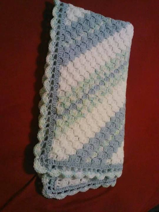 Beautiful Border For A Corner To Corner C2c Afghans Pinterest