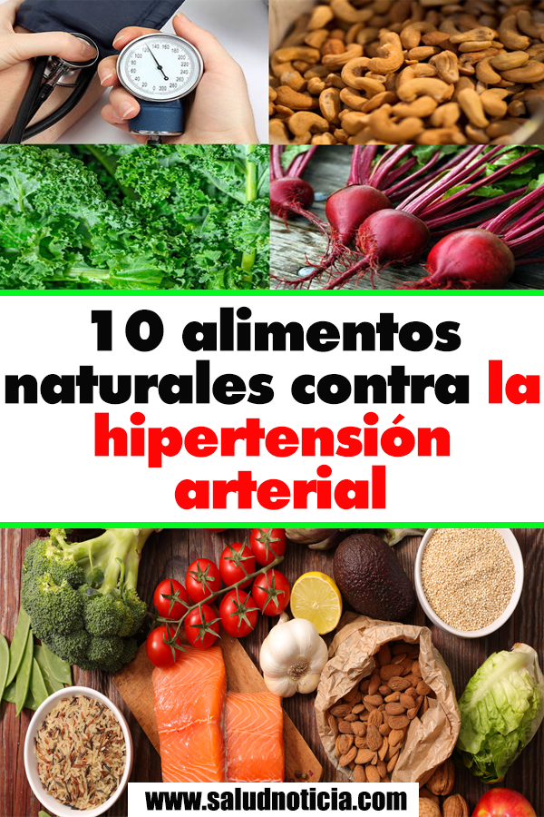 10 Alimentos Naturales Contra La Hipertension Arterial Health And Fitness Tips Health And Wellness Health