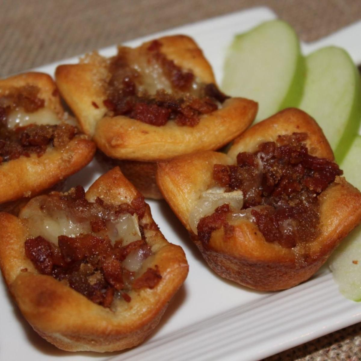 Bacon Brie Tarts