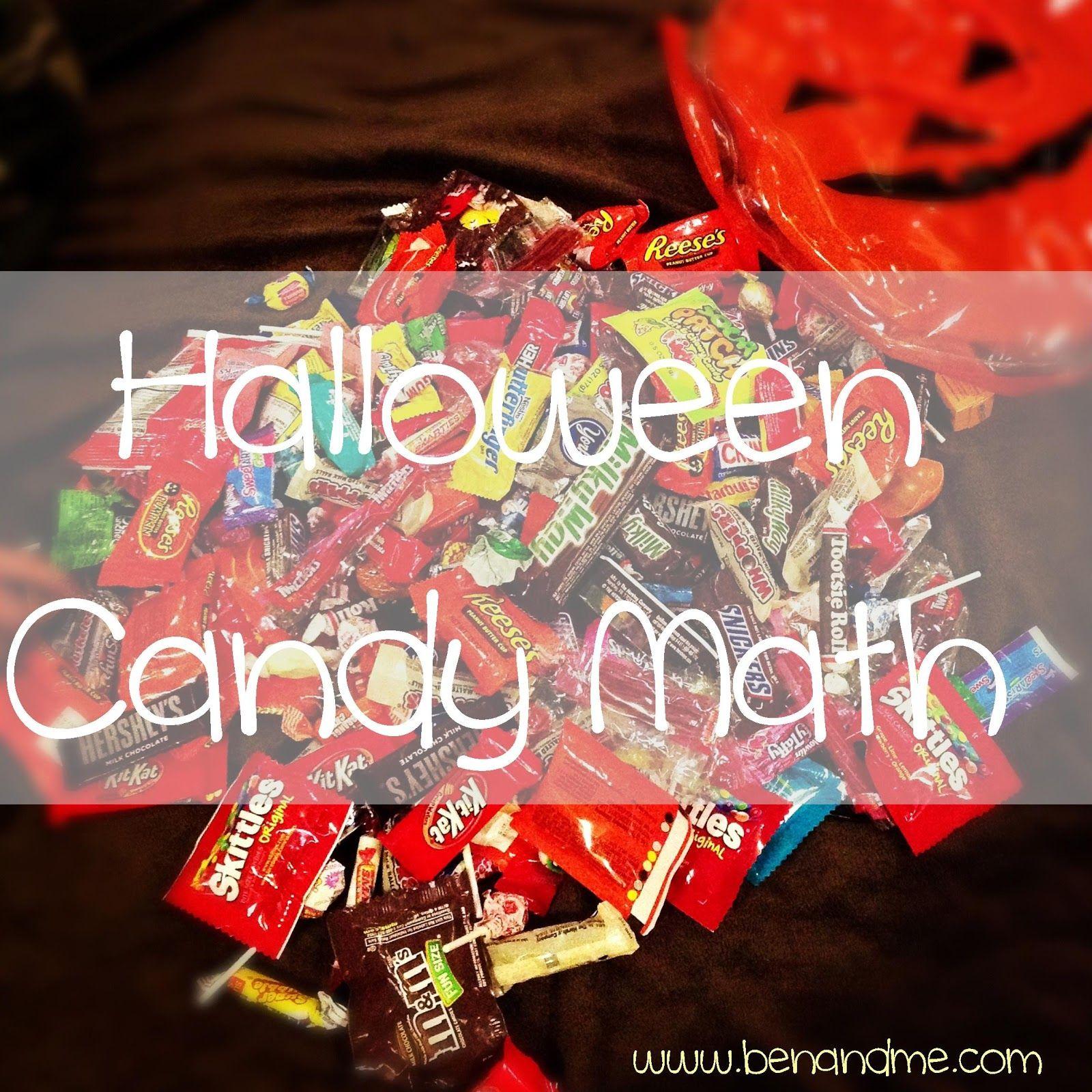 Halloween Candy Math Free Printable
