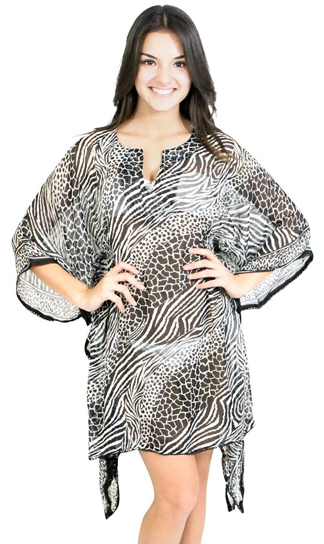 078ac8fc5e Women's Clothing, Swimsuits & Cover Ups, Cover-Ups, Ladies Beachwear Kimono  Loose Blouse Bikini Swimwear Swimsuit Cover ups Tank Top - White -  CZ119WDQ5WZ ...