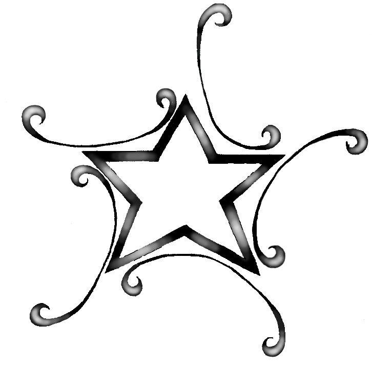 Star By Smittywerberyagerman On Deviantart Swirl Tattoo Star Foot Tattoos Tattoo Designs