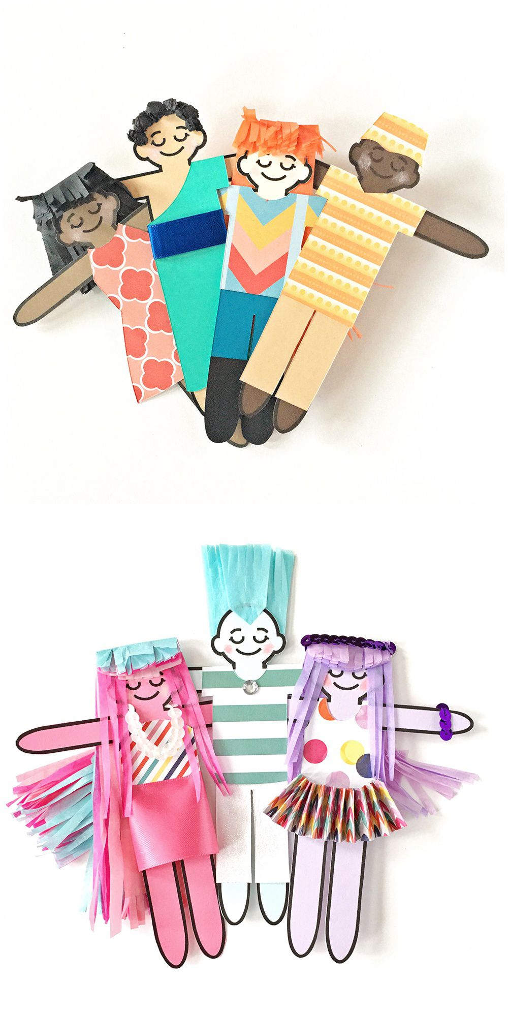 MULTICULTURAL CHILDREN'S ART WITH FREE PRINTABLE ...