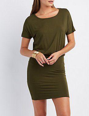 Open Back Bodycon Dress #CharlotteLook