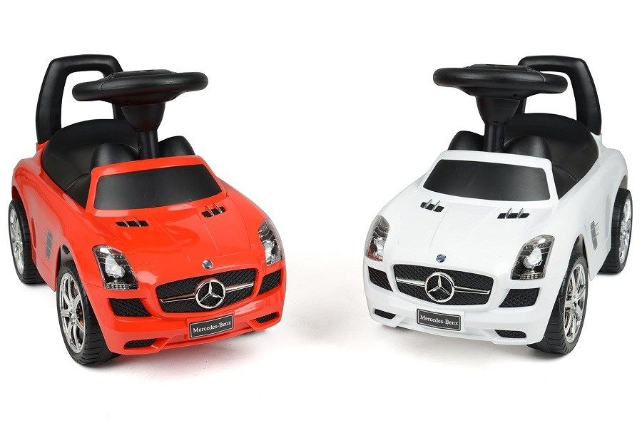 Review Of Mercedes Benz Sls Amg Push Car Ride On Toy Reviews
