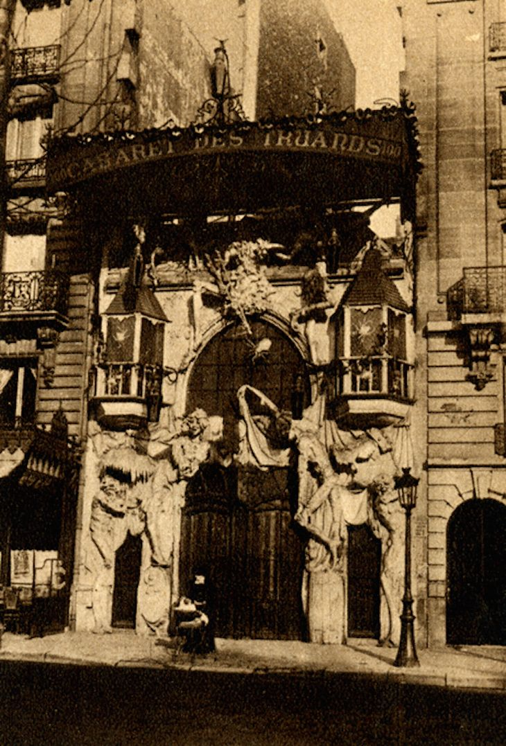 These Popular Nightclubs Of 1920s Paris Are 100% Terrifying    Caberet Les Truards