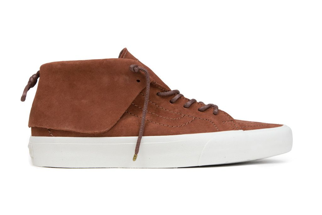 5dae206c320f36 Vans CA Pig Suede SK8 Mid Moc - Tortoise Shell Blanc – Feature Sneaker  Boutique