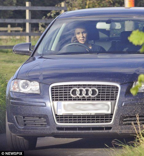Pictured Naughty Kate Middleton Driving While Talking On