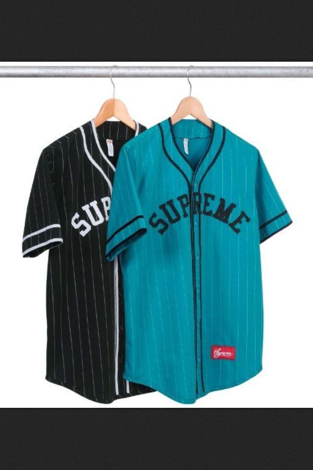 Supreme Baseball Jerseys | Fashion, Baseball jersey outfit