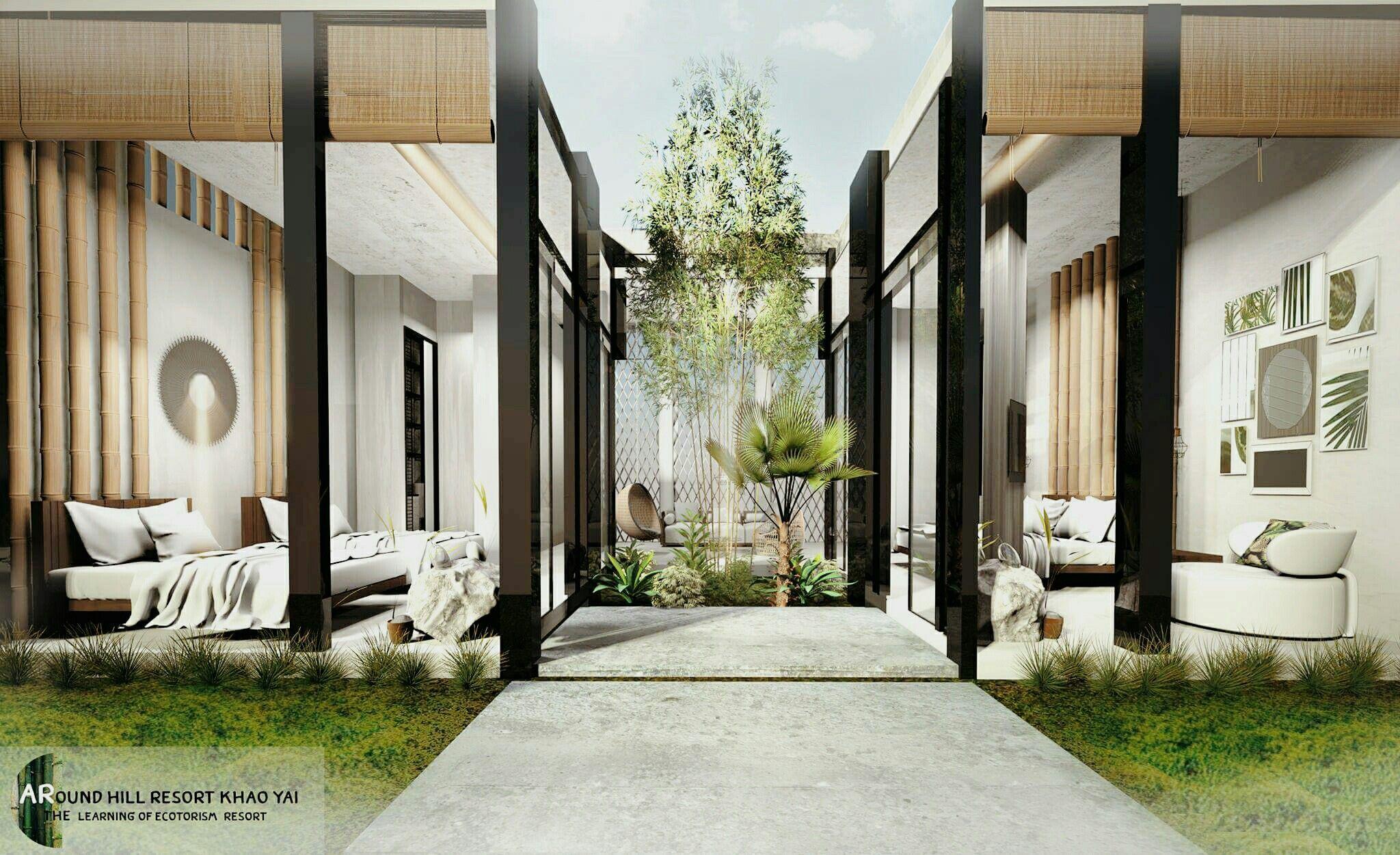 Resorts Interiors Presentation Concept Architecture Interior Design