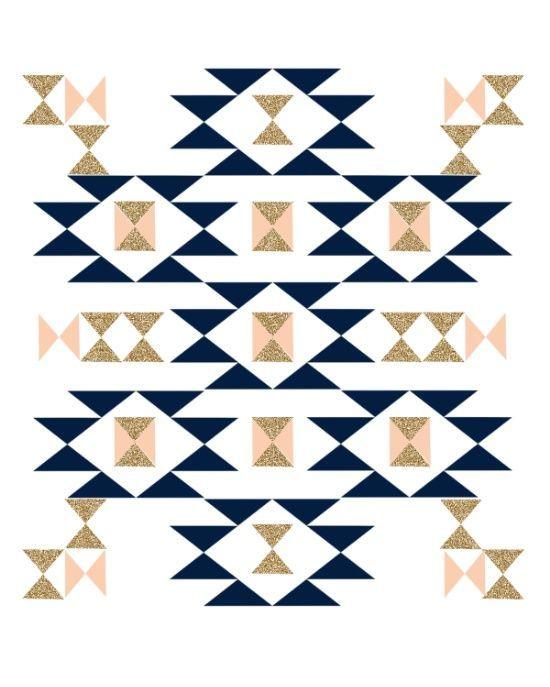 simple navajo designs. Jacs - Modern Pattern Design In Aztec Themed Navajo Print Textile Cute Trendy Girl Art Simple Designs