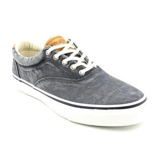 Mens Casual Shoes Sperry Striper Cvo Salt Washed Navy Mens Shoes Casual Shoes Under Discount