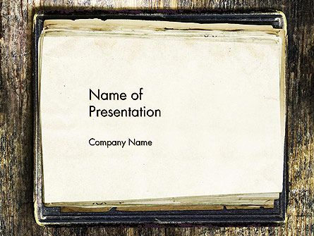 Old notebook powerpoint template vicky pinterest ppt old notebook powerpoint template toneelgroepblik Image collections