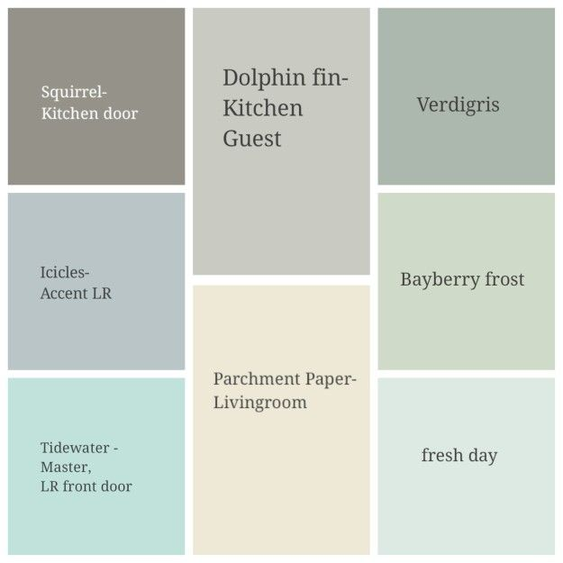 Behr Paint Interior House Color Combo Working With Existing Colors