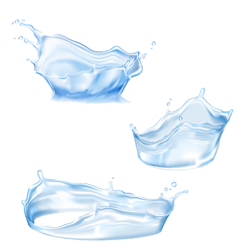 Set Of Vector Water Splashes Water Clipart Splash Flowing Png And Vector With Transparent Background For Free Download Save Water Poster Water Splash Png Splash Effect