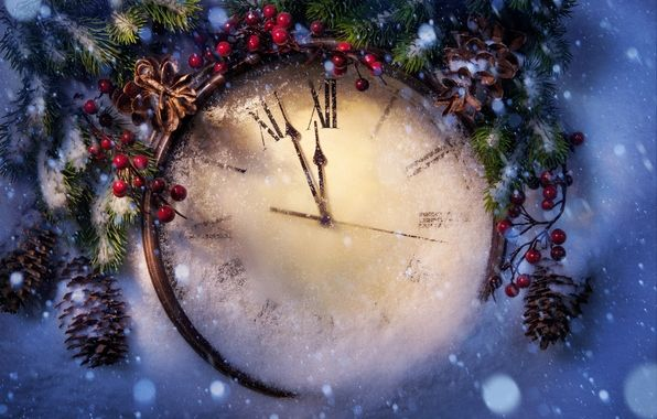wallpaper new year christmas new year christmas holiday clock snow winter wallpapers new year download