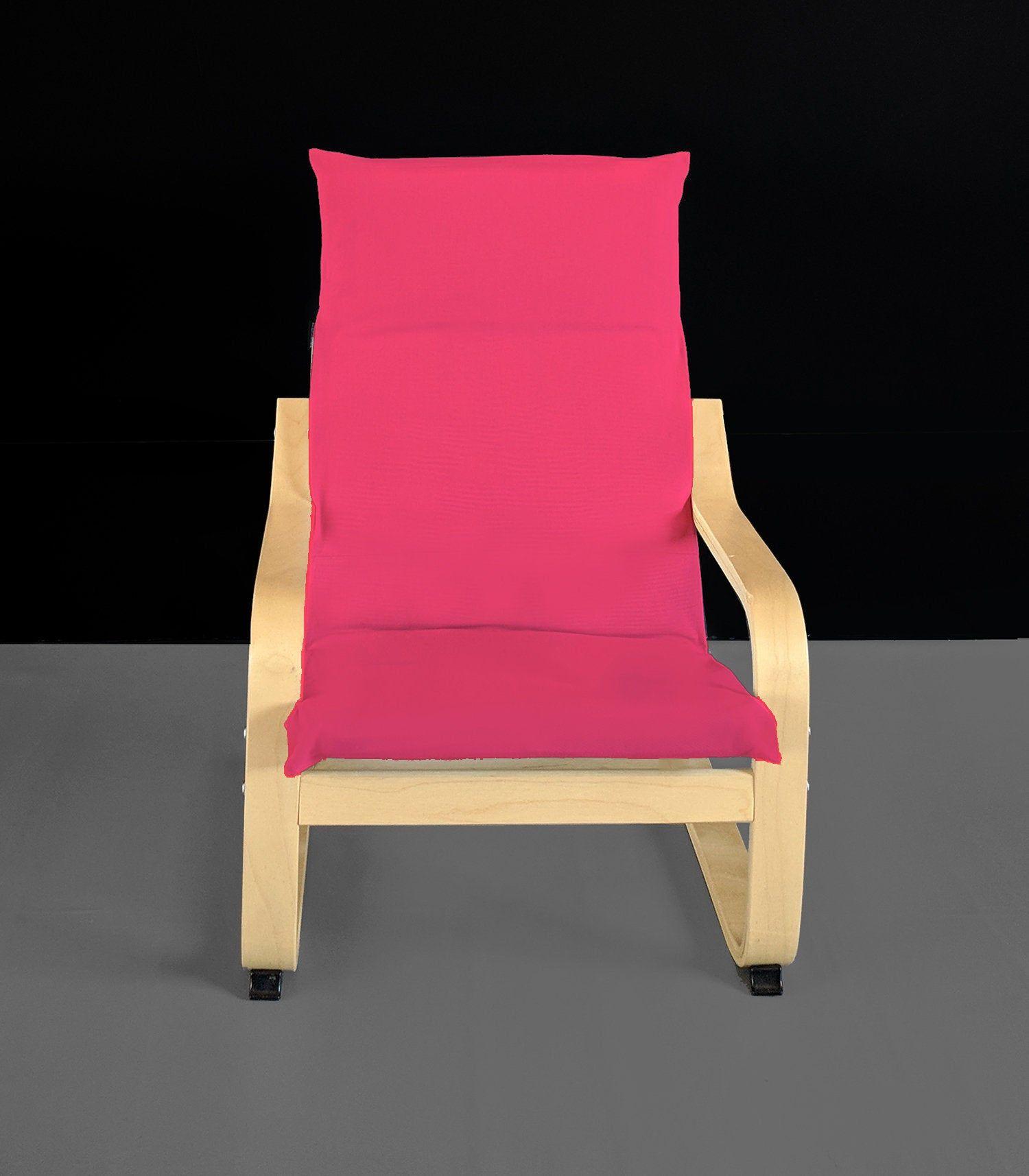 Solid Hot Pink IKEA KIDS POÄNG Cushion Slipcover Ikea