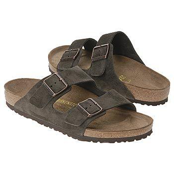 Birkenstock Arizona Sandals (Mocha Suede) - Men's Sandals - 43.0 M