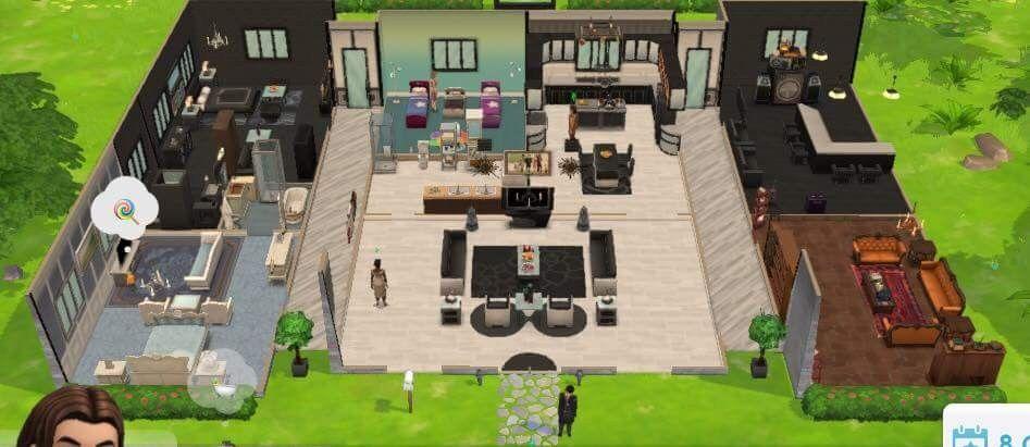 Pin De Aurelie Lachance Em The Sims Mobile Homes Casa Sims Sims Casas