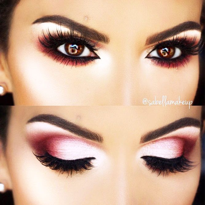 30 Makeup Looks That Can Enhance Your Hooded Eyes Make Up Ideas
