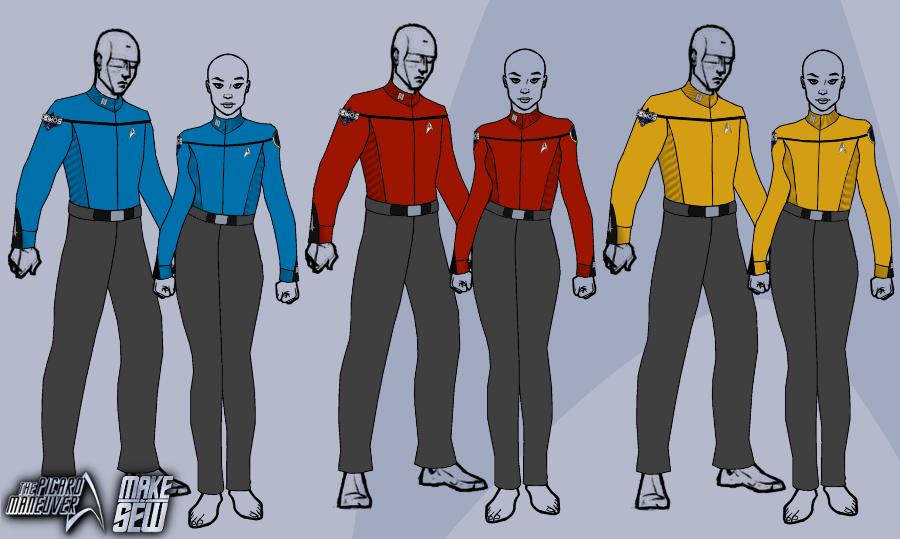 star trek discovery uniforms | ... - Star Trek:Discovery Uniforms Sneak Peak | Page 4 | The Trek BBS