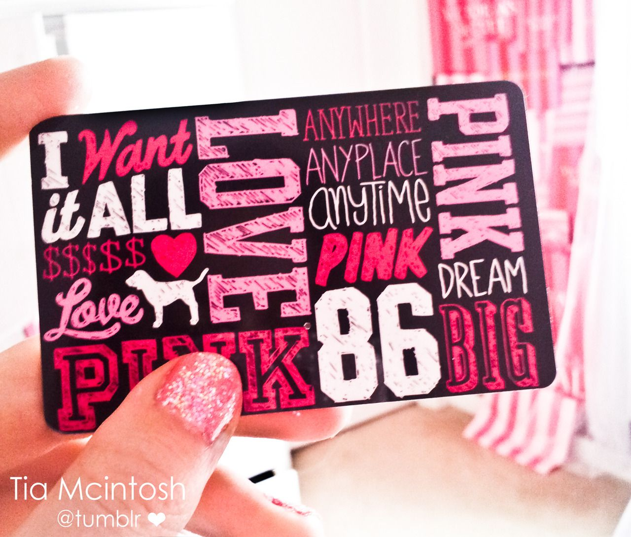 Victorias Secret Gift Card So I Can Pick The Size And Color Of Top Want
