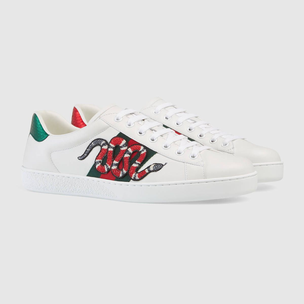 c6443f3f892 Gucci Ace embroidered sneaker in 2019