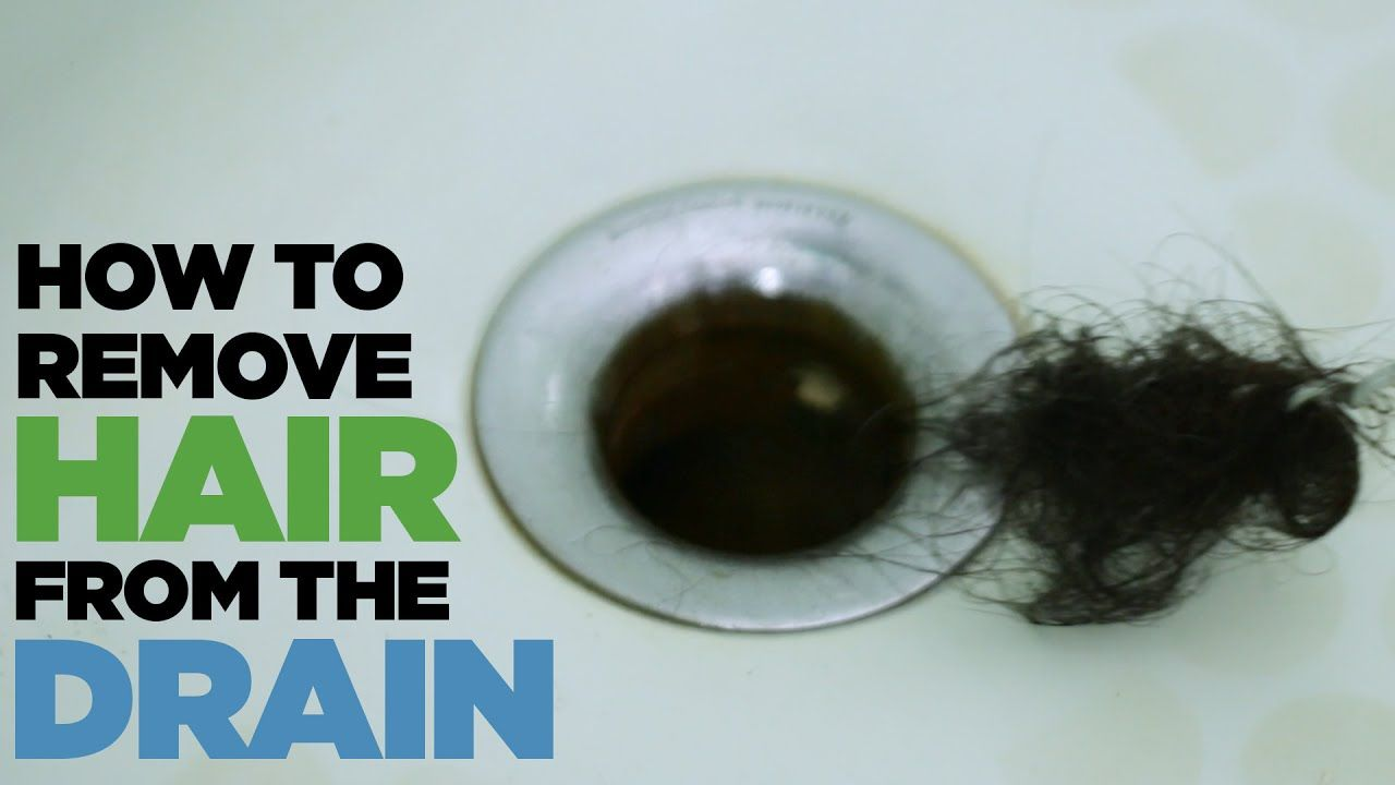 How To Remove Hair From The Drain With A Hanger Youtube Unclog Drain How To Remove Hair Removal