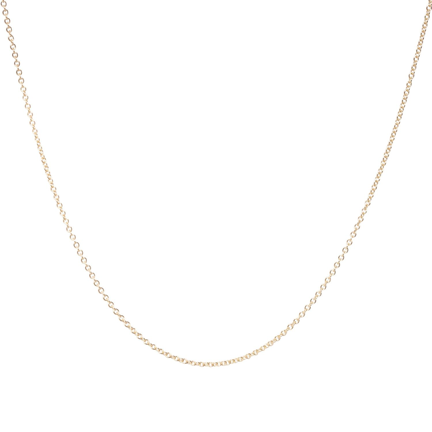 Plain Chain, yellow gold   Chains, Gold and Gold necklaces