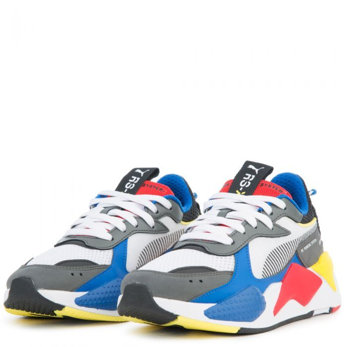 caba7a0a13af1d GS) RS-X TOYS Puma White-Puma Royal-High Risk Red in 2019 ...