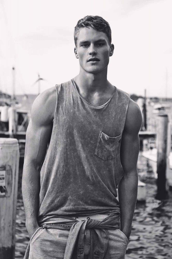 Australian Model Toby James At Chadwick Models In Sydney -4460