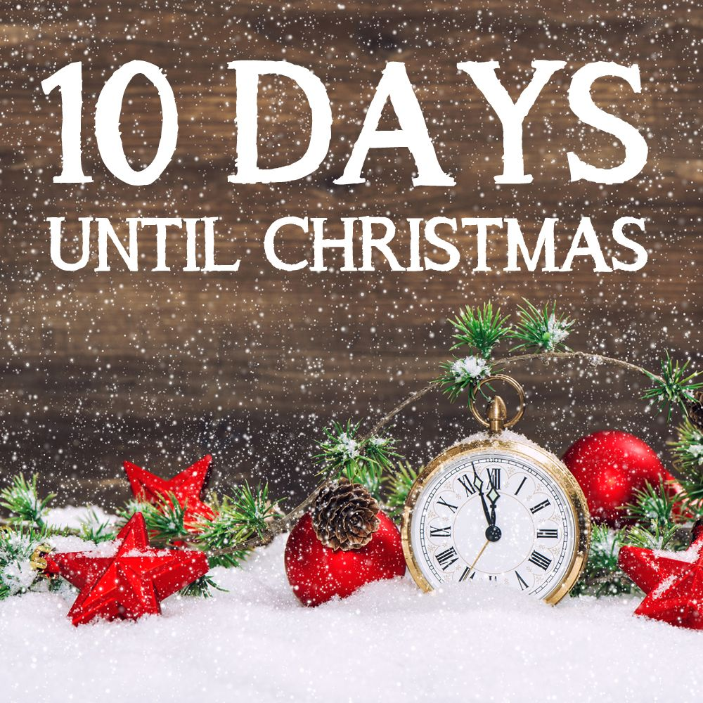 Yesterday signified 10 days until Christmas! To help you with your ...