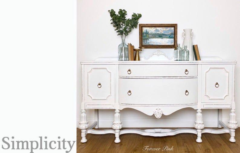 Country Chic Paint Simplicity Crinoline Vanilla Frosting Etsy In 2020 Country Chic Paint Country Chic Decor