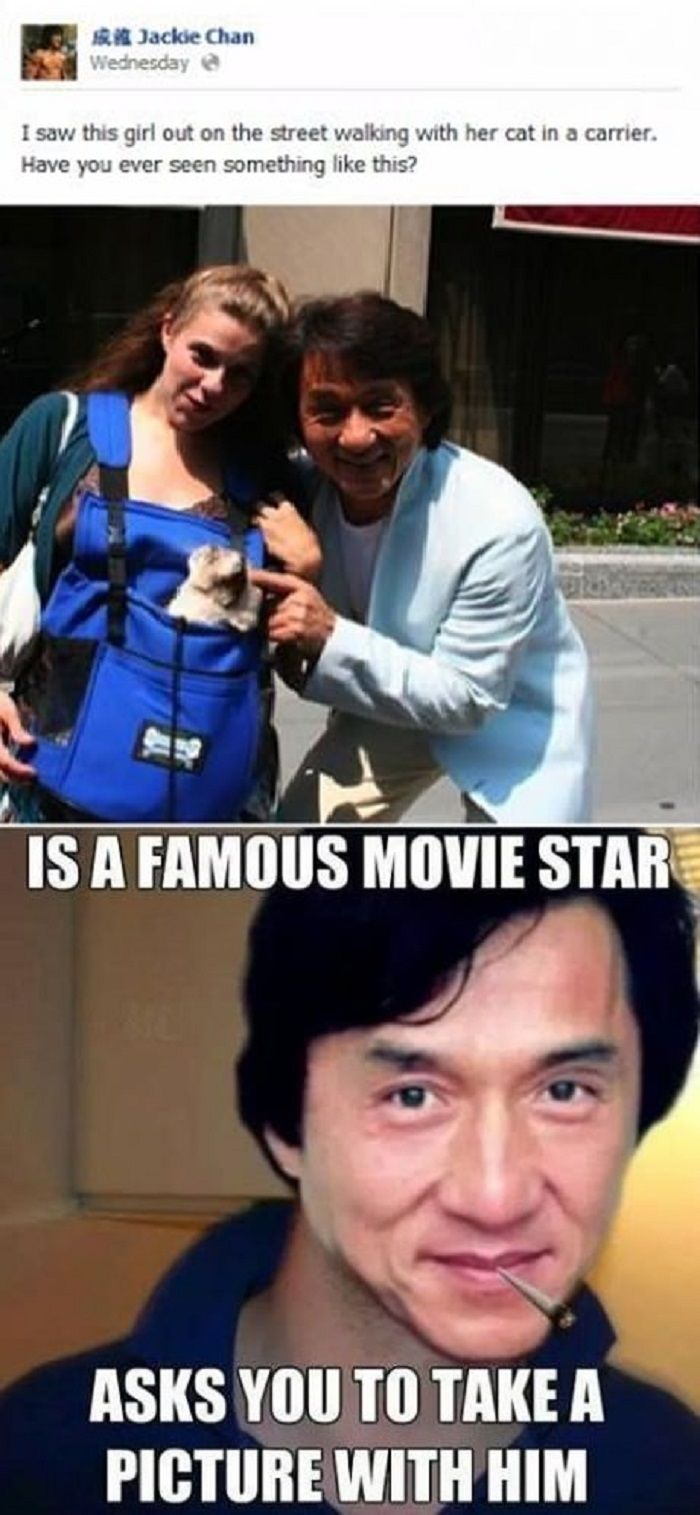 Good Guy Jackie Jackie chan, Funny pictures, Funny
