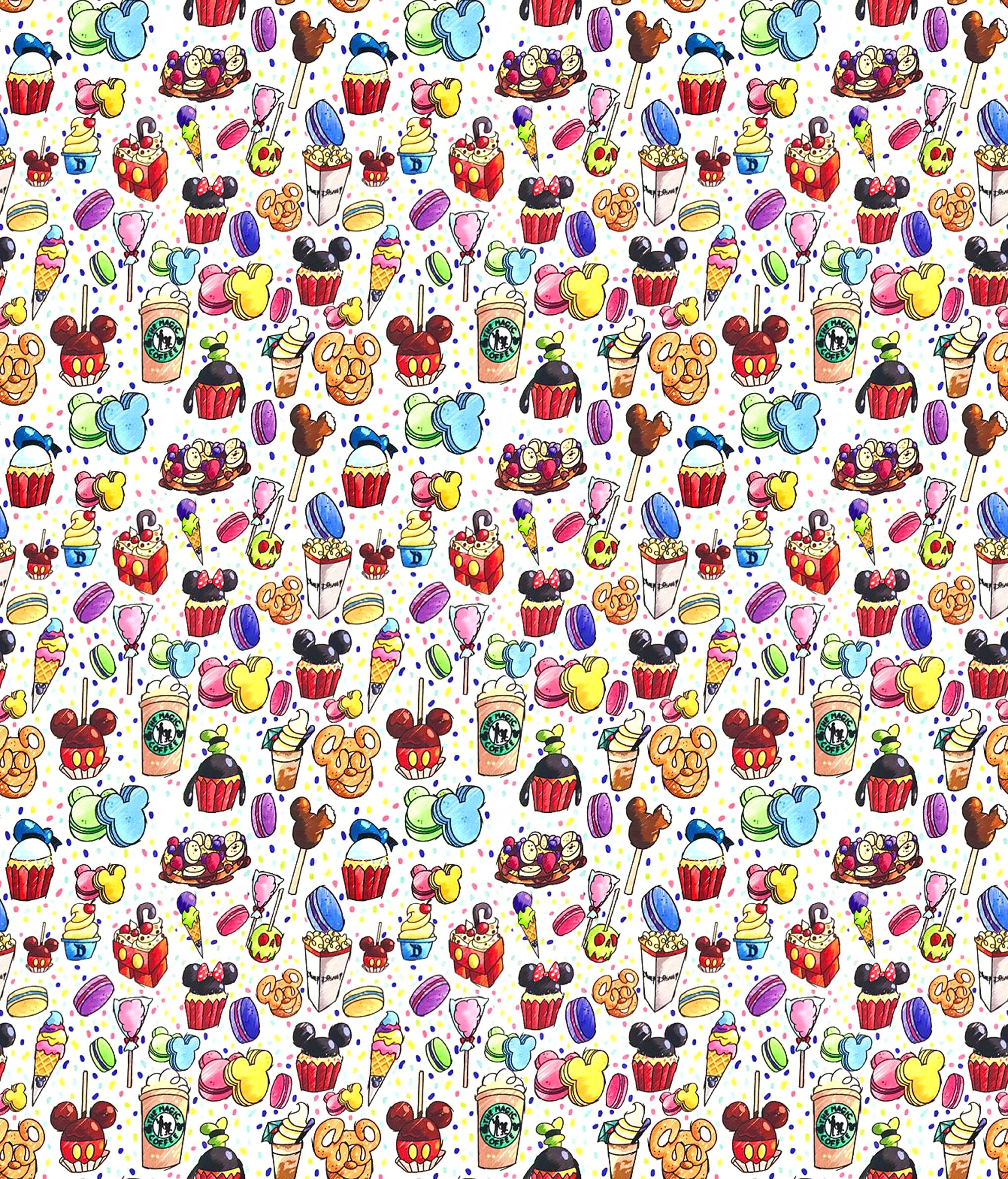 Disney Snack Wallpaper Disney Snacks Disney Wallpaper Disneyland