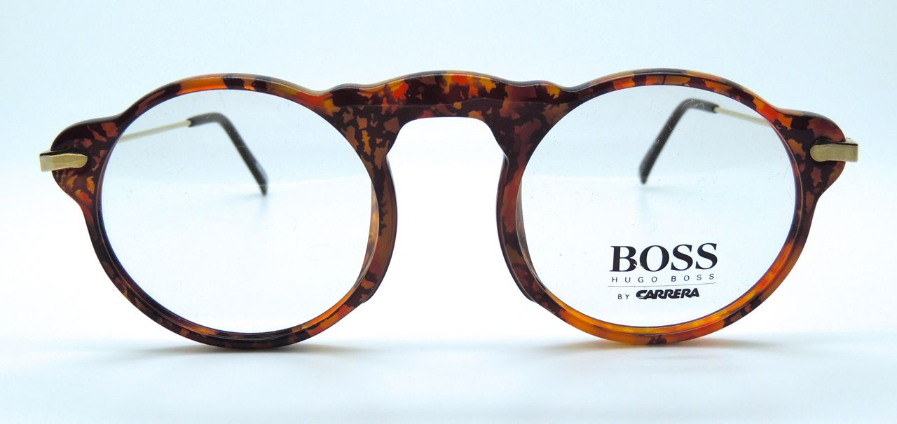 bda5782b20 The Old Glasses Shop - Hugo BOSS by Carrera 5108 Round Vintage Glasses In  Tortoiseshell Colour