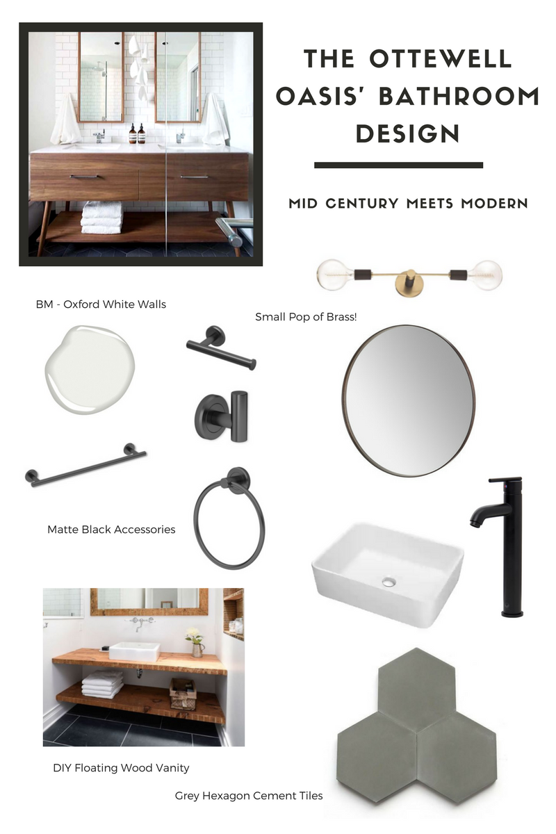 Mid Century Modern Bathroom Design Inspo {+ The Best ...