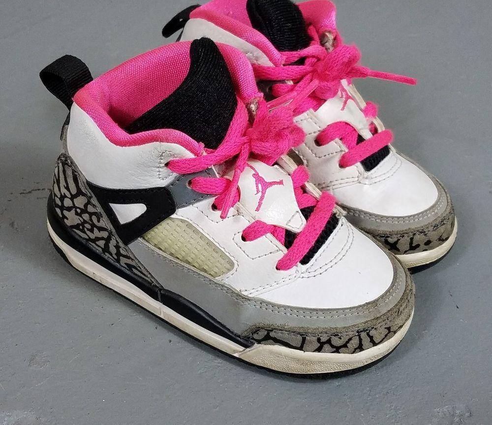 online store 8fdd6 36289 Details about Nike AIR JORDAN RETRO 3 Girls TODDLER BLACK ...