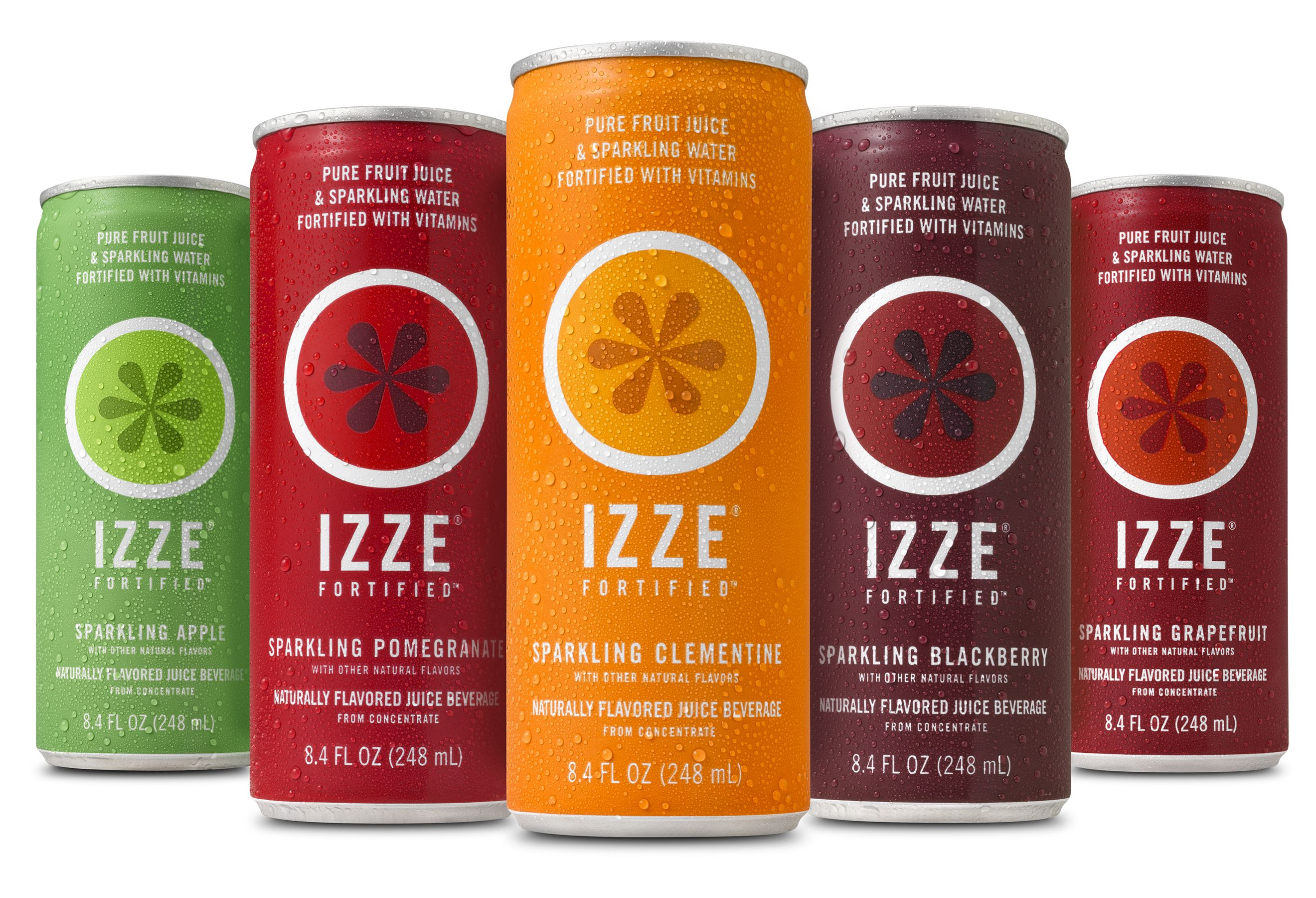 IZZE Can Family   IZZE Product   Sparkling drinks