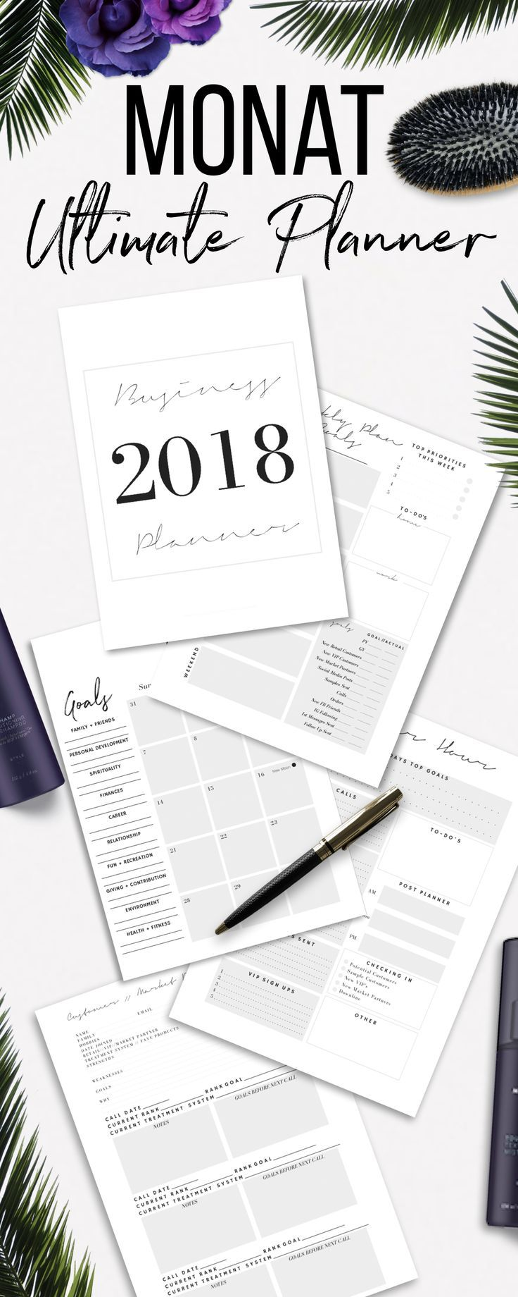 Monat Business, Monat Planner, Monat before and afters