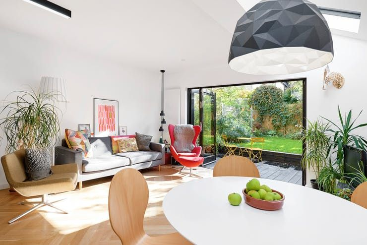 A Gorgeous Ground Floor London Flat Opens Onto A Garden Small