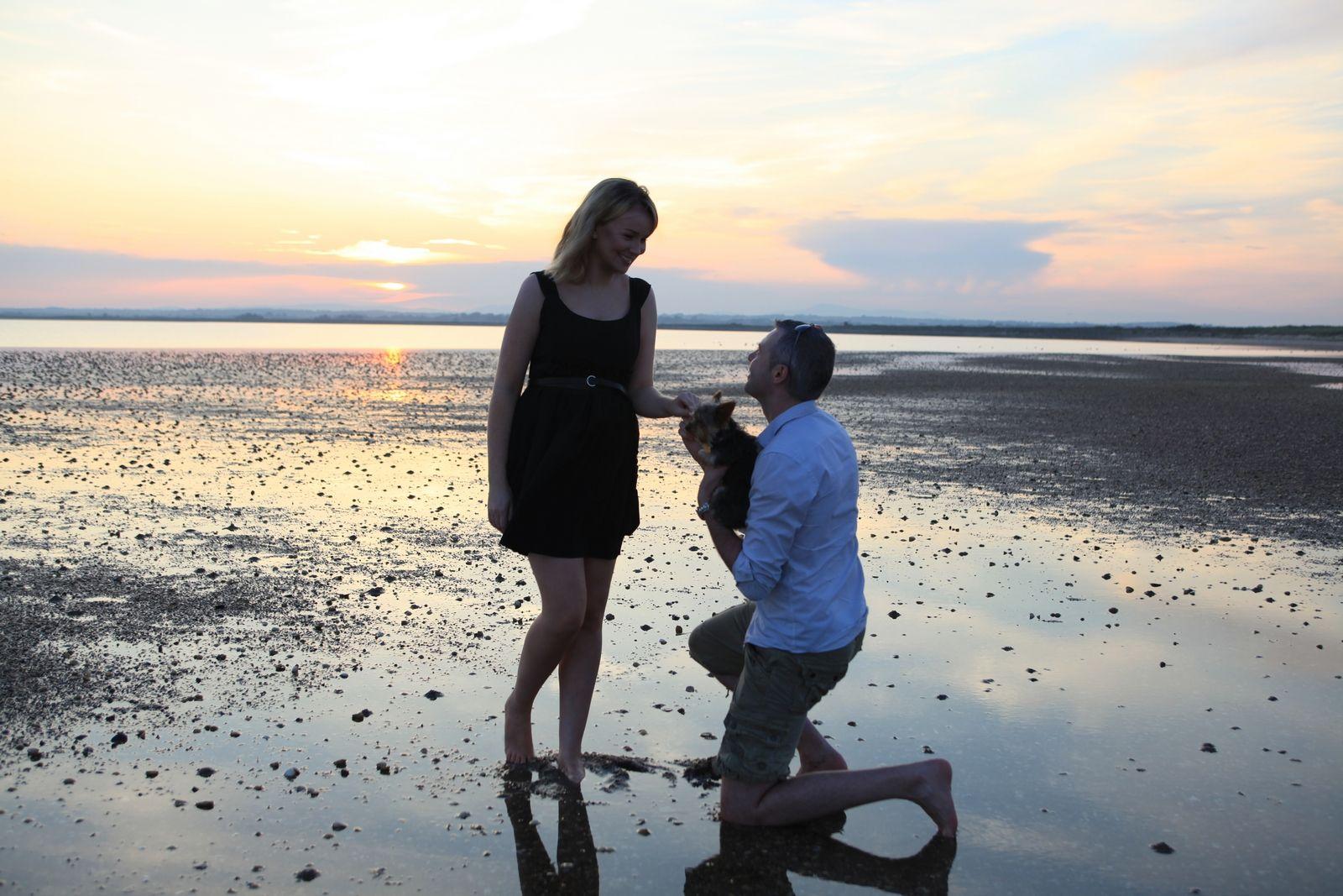 The Raven Point, Wexford, Ireland. Engagement photo. Photo contest. Please vote.