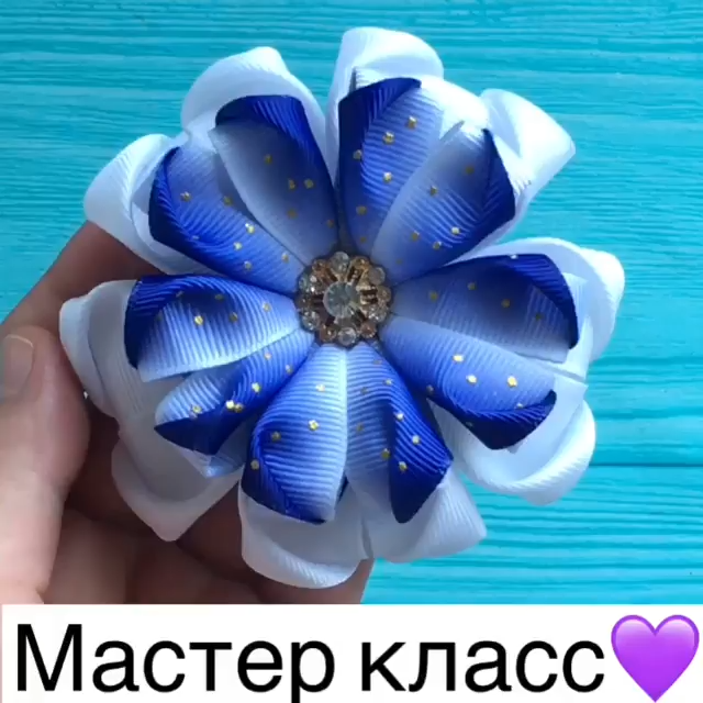 A pretty flower bow!